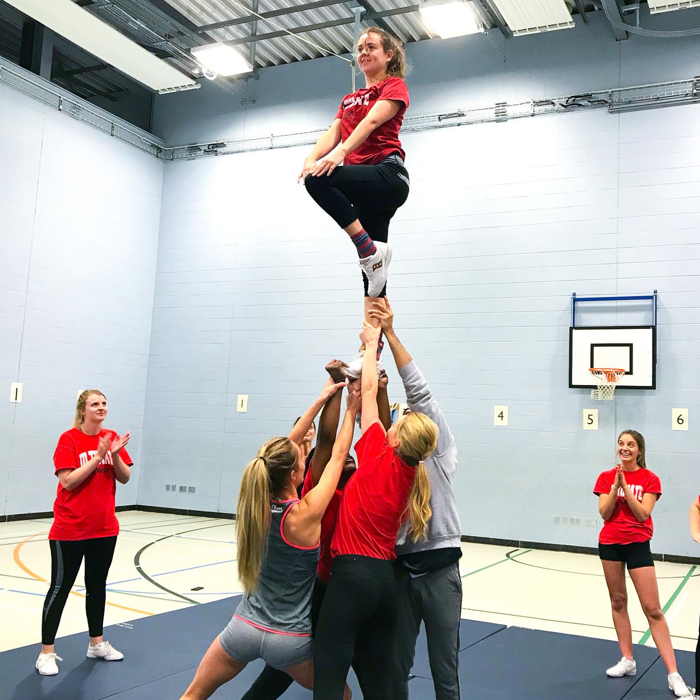 Adult cheerleading in London
