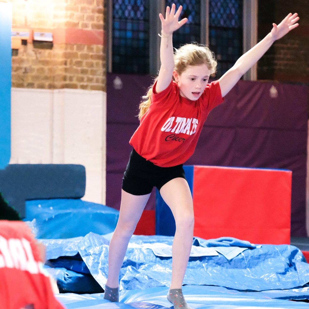 cheerleading summer camps London