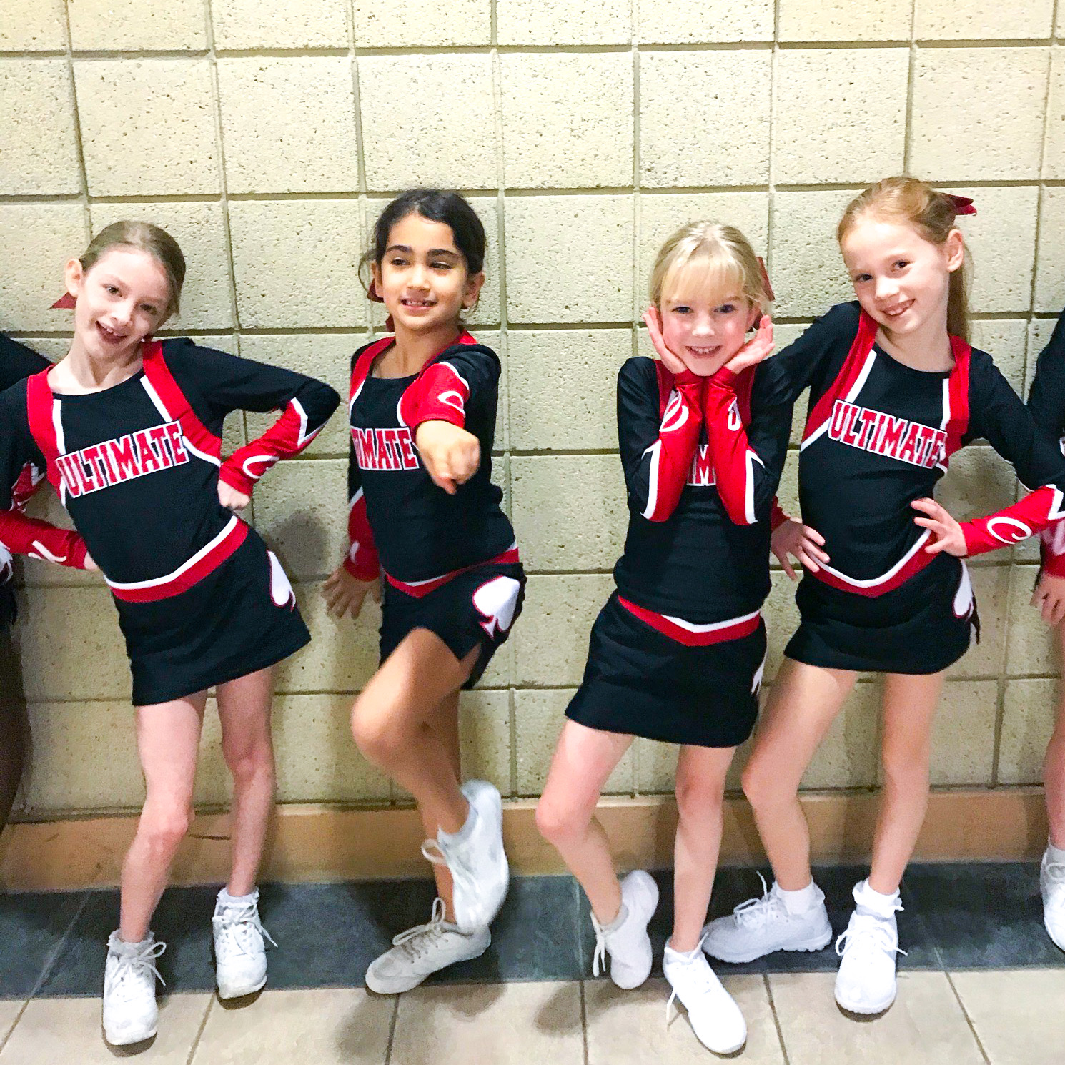 toddler and kids cheerleading in London