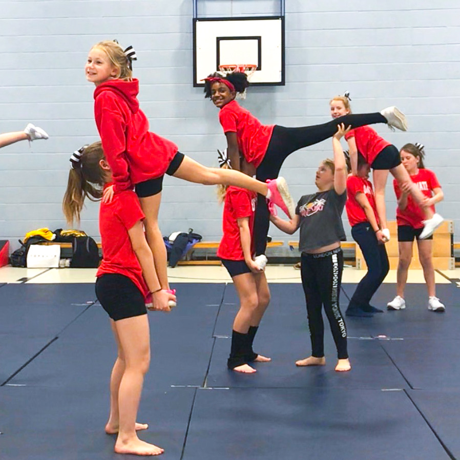 kids cheerleading classes in London